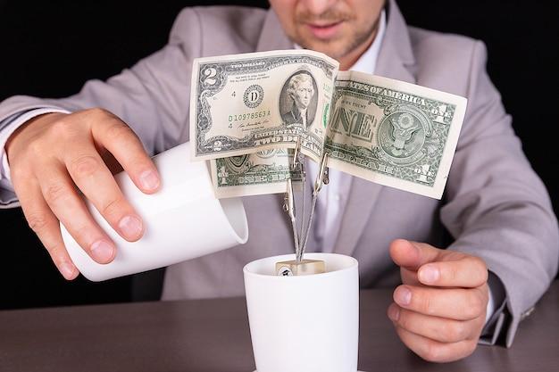 Концепция роста прибыли по депозиту