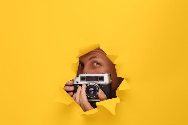 Концепция фотографа
