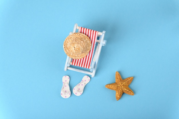 Concept photo about nice vacation at the sea top view