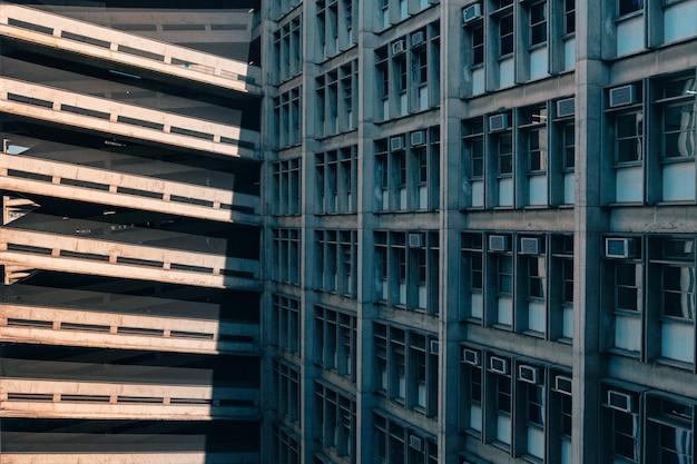 Colpo di concetto di un edificio federale a rio de janeiro