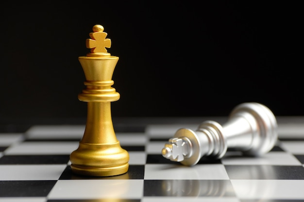 The concept of winning the competitive of chess pieces