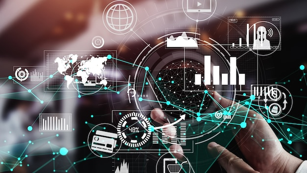 Концептуальная бизнес-панель для анализа финансовых данных