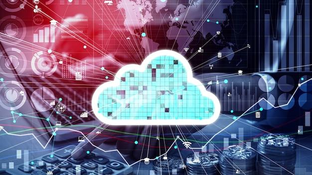 Концептуальные облачные вычисления и технология хранения данных для будущих инноваций
