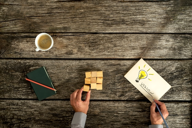Концептуальный образ видения бизнеса и инноваций