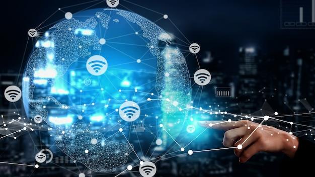 Связь и соединение концептуальных людей в сети