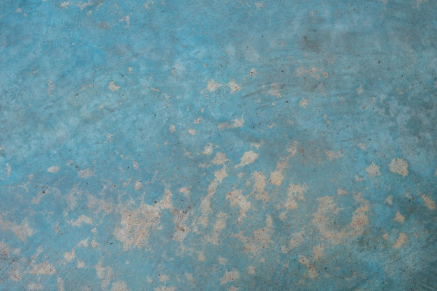 Concrete blue wall texture and background with copyspace