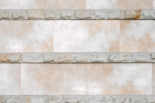 コンクリートレンガの壁の背景