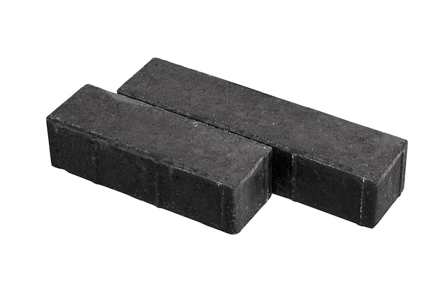 Concrete building blocks cement block icon used for construction illustrated