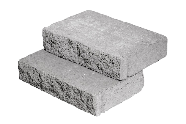 コンクリートビルディングブロック建設に使用されるセメントブロックアイコン