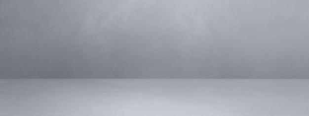 Бетонная внутренняя стена. пустая шаблонная сцена