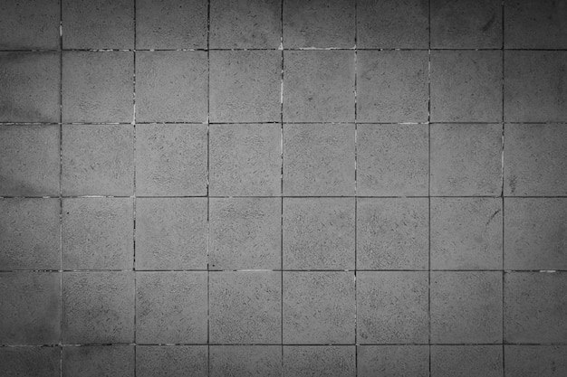 Concrete square pattern background