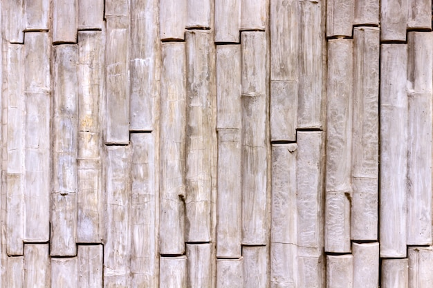 Concrete texture bamboo style