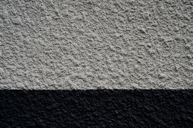 Concrete wall color painted
