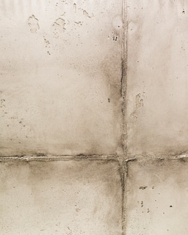 Concrete wall surface with joint
