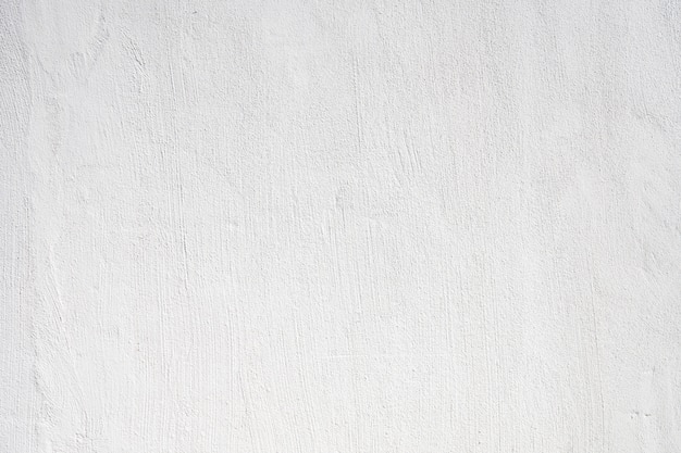Concrete wall white painted texture background