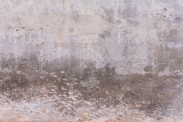 Concrete wall with stains