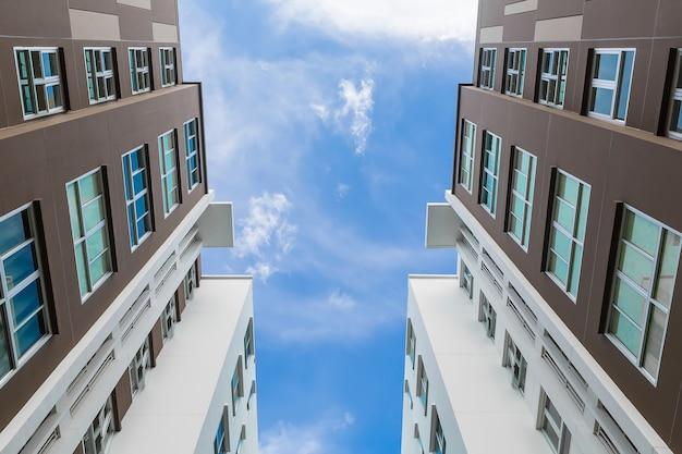 Condominium in  a big city