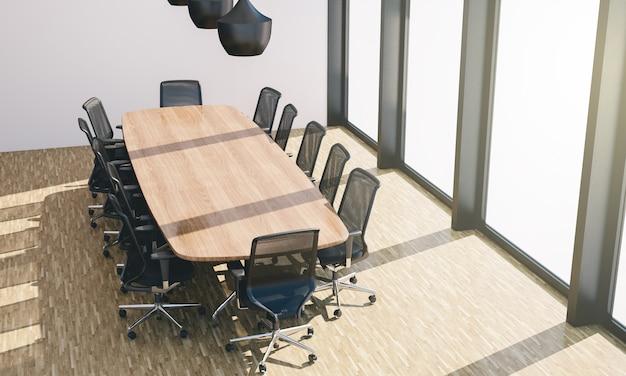 Conference room desk