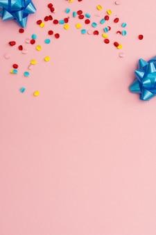 Confetti and bows