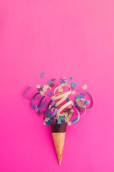 Конфетти мороженое