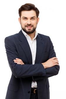 Уверенно портрет бизнесмена Premium Фотографии