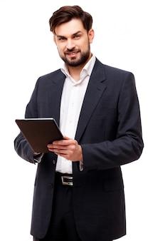 Уверенно портрет бизнесмена