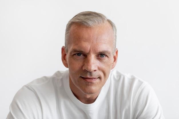 Confident middle aged man portrait