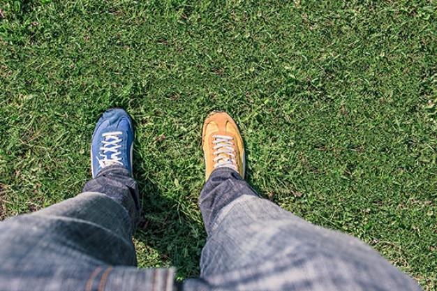 Confused sneakers
