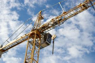 Construction crane, crane