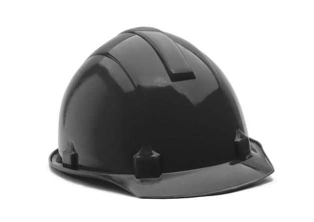 Construction helmet on white