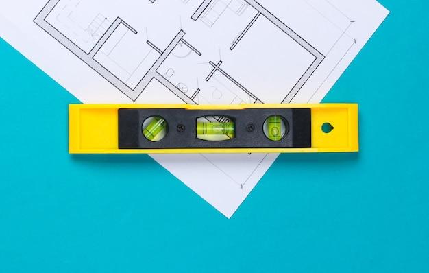 青の建築計画(青写真)の建設レベル