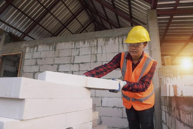 建設石工労働者煉瓦工