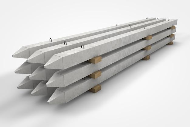 Строительные материалы в сборном бетоне