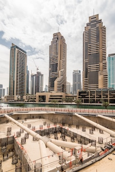 アラブ首長国連邦、ドバイでの新しい超高層ビルの建設