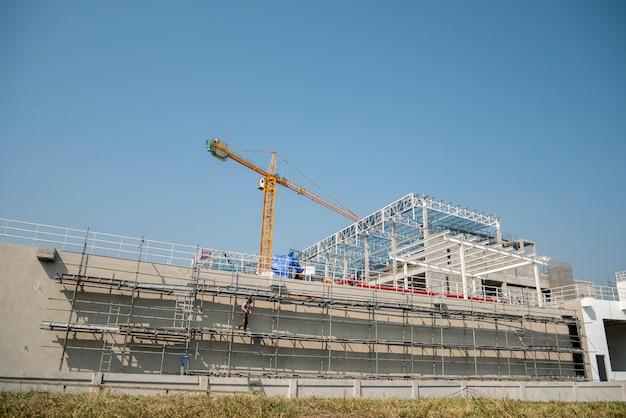 Construction site background