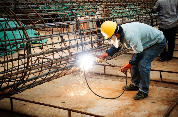 Construction site welders