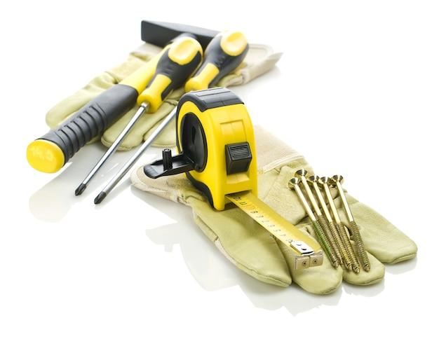 作業用手袋の建設ツール