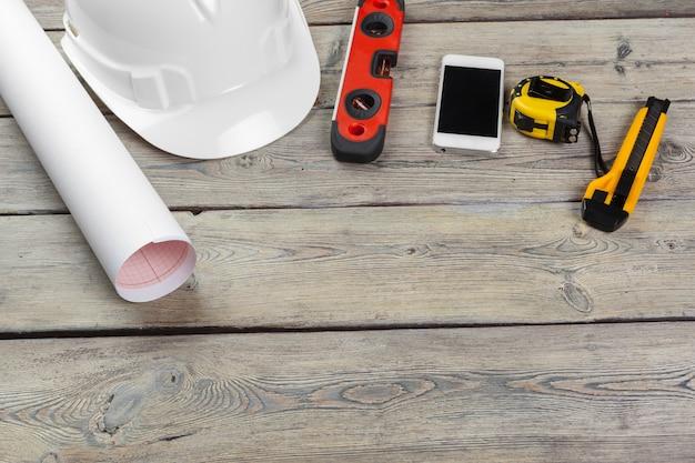 Construction worker supplies