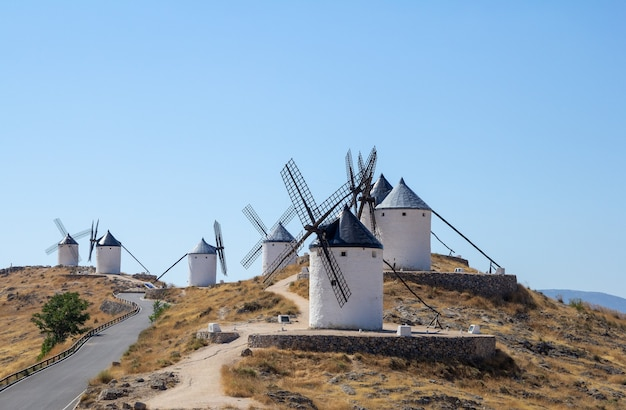 Consuegra mills are a group of mills located in the so-called