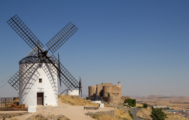 The consuegra windmills are a group of mills located in the spanish municipality of consuegra