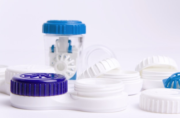 Contact lens accessories