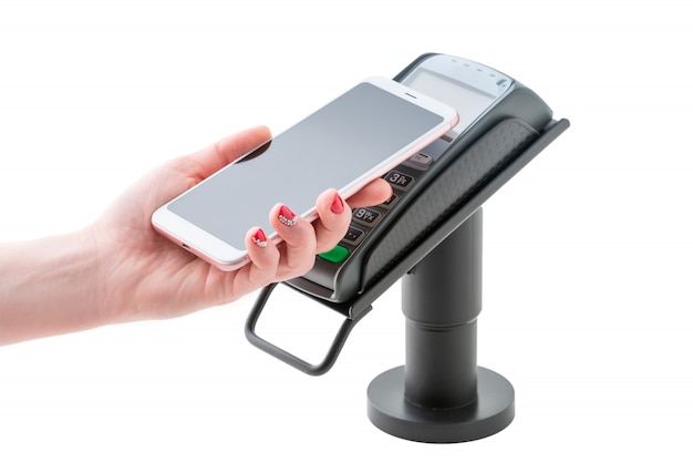 Contactless payment through the pos terminal