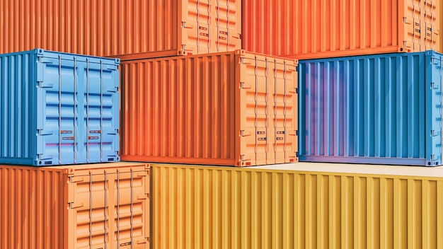 Container box from cargo
