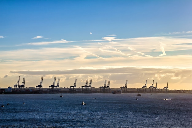 Container terminal harwitch, england