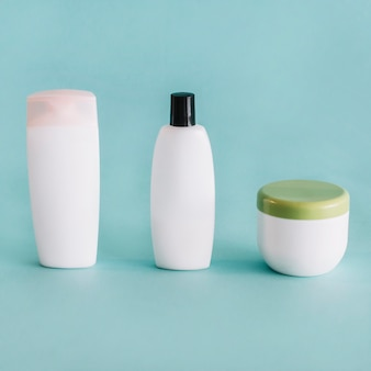 Containers with cosmetics