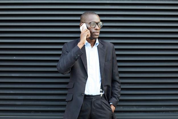 Современный афро-американский бизнесмен