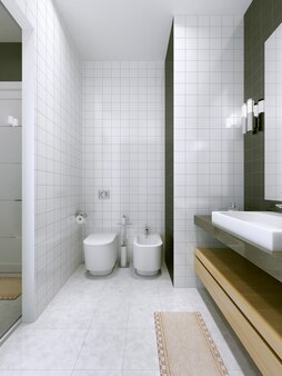 현대적인 욕실 트렌드
