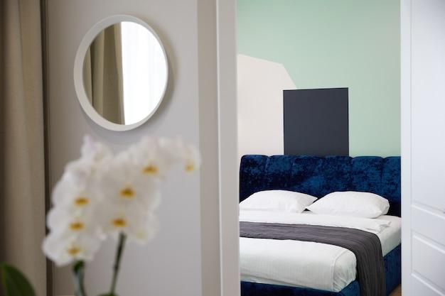 Современный для декоративного дизайна. современный дизайн интерьера дома.