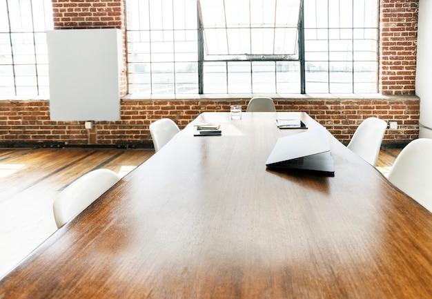 Contemporary interior meeting room