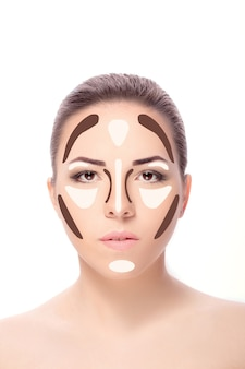 Лицо женщины